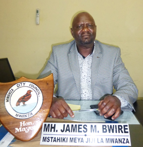 Mr. James Bwire - Mayor for Mwanza